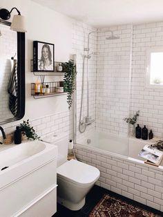 BATHROOM RENO decoración, ideas para la casa, myhome, On top - Macarena Gea Bathroom Renos, Small Bathroom, Bathroom Renovations, Master Bathroom, Bathroom Inspiration, Home Decor Inspiration, Bathroom Inspo, Bathroom Ideas, Ideas Baños