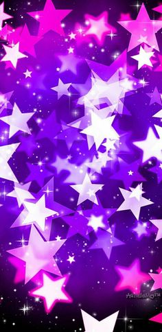 By Artist Unknown. Stars Wallpaper, Purple Galaxy Wallpaper, Flower Phone Wallpaper, Love Wallpaper, Cellphone Wallpaper, Pattern Wallpaper, Iphone Wallpaper, Wallpaper Awesome, Pretty Backgrounds