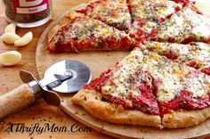 30 Minute Whole Wheat Pizza Dough,Quick And Easy Dinners, Money Saving Recipes, Quick Pizza Dough Recipe, Whole Wheat Pizza Dough Recipe