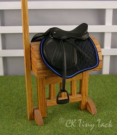 CK Tiny Tack: Saddles - This lady is such an artist
