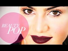 ▶ Berry Lips Tutorial with Camila Coelho: Sleek and Simple - Beauty Pop! - YouTube