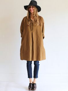 Jesse Kamm Imperial Tunic - Root Brown