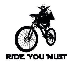 For the Star Wars fans out there! (This would be awesome on a jersey.) #cycling #starwars   #yoda