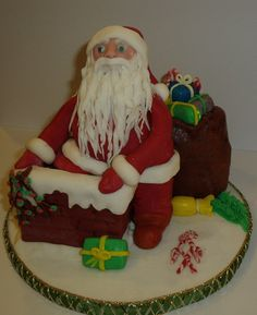 3D Torte Nikolaus
