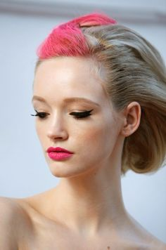 A touch of Pink! #beautylooks #hair #pink #lapeerbeauty