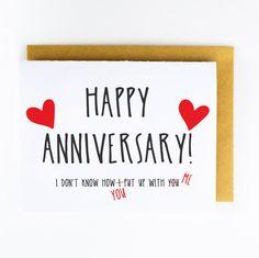 Anniversary Card, Anniversary, Happy Anniversary!