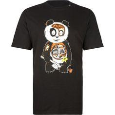 LRG Panda Anatomy Mens T-Shirt
