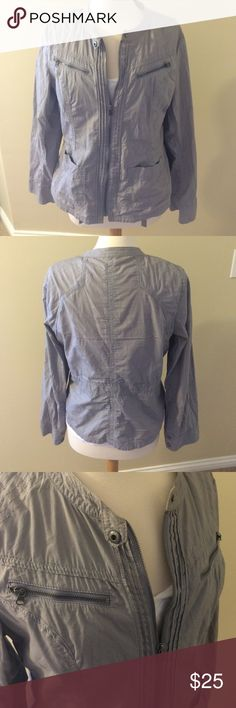 Express Jacket Adorable grey jacket. Worn a couple times. Perfect to dress up or dress down! Express Jackets & Coats