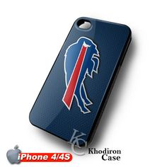 iOffer: Blue Buffalo Bills NFL Team Logo iPhone 4 4S Case for sale on Wanelo