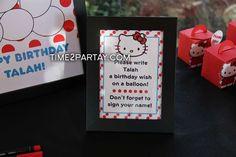 Hello Kitty Themed Birthday Party | CatchMyParty.com