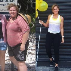 Before and After Weightloss Inspiration. Want to make a fitness transformation like this? Read her story �