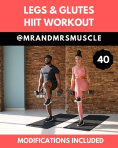 Fitness Exercises 725572189952879398 - Tone your Legs and build powerful Glutes in this Home HIIT Workout. Low impact beginner modifications are included. — Source by hoennoella Exercise Fitness, Training Fitness, Fitness Workout For Women, Body Fitness, Fitness Workouts, At Home Workouts, Fitness Legs, Physical Fitness, Weekly Gym Workouts