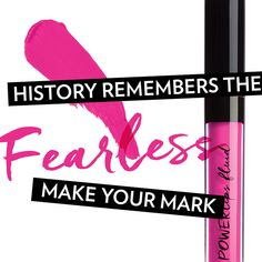 Set your self up for the day to be Fearless! Lipstick Colors, Lip Colors, Lipstick Shades, Colours, Galvanic Spa, Homemade Lip Balm, Fair Skin, Skin Care Tips, The Balm