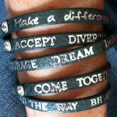 Wrap-around bracelet by Good Work(s).