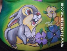 "Bellypainting ""Thumper"""