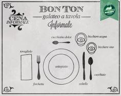 Bon ton a tavola: come apparecchiare la tavola in modo informale