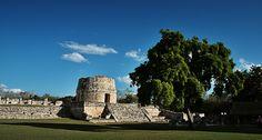 Mayapan Yucatan Mexico - Mayan Ruins