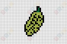 Bitter Gourd Pixel Art