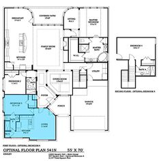 Country House Plan 146 2173 4 Bedrm 2464 Sq Ft Home