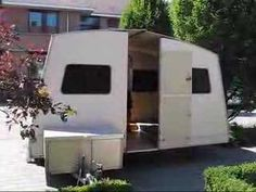 Rapido folding caravan setup