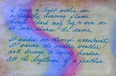 spiral walk verse