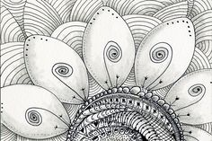 Flower Power Drawing by Shannon Story - Flower Power Fine Art Prints and Posters for Sale