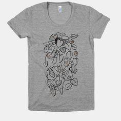 One Stylish Plant #nature #pattern #indie #boho #shirt #tshirt