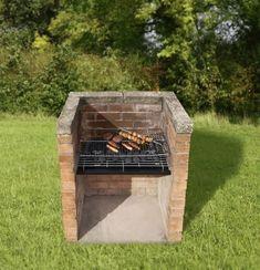 diy brasero barbecue en briques