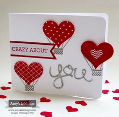 """Wednesday I posted a """"LOVE"""" card for the InKing Blog Hop that you can see here. The card I'm showcasing today was created that same evening. Once again, I was having to use what I had in my stampin..."""