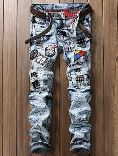 $24.94 SHARE & Get it FREE | Zipper Fly Pocket Rib Panel Patch JeansFor Fashion Lovers only:80,000+ Items • New Arrivals Daily • Affordable Casual to Chic for Every Occasion Join Sammydress: Get YOUR $50 NOW!
