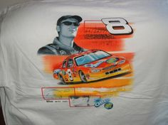 Dale Earnhardt Jr #8, OREO-Ritz on a white extra large (XL) new Chase tee shirt w/free shipping