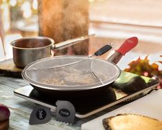 Measuring at 13 inches, the Chefast splatter guard fits perfectly most large pots, frying pans, and iron skillets without lids from major brands. Click the image above to find out more about the Chefast Splatter Screen Set.