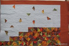 Charming Challenge 2013 THIRD PLACE (tie), original wall hanging   Meg Tison
