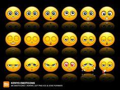 Keriyo Emoticons by deleket on DeviantArt Blushing Emoticon, Eye Roll, For Facebook, Minions, Web Design, Deviantart, Image Search, Photoshop, Minion