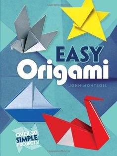 Easy Origami (Dover Origami Papercraft)over 30 simple projects [John Montroll] on . *FREE* shipping on qualifying offers. Easy Origami (Dover Origami Papercraft)over 30 simple projects Origami Koala, Origami Fish, Origami Animals, Origami Art, Oragami, Origami Books, Origami Folding, Paper Folding, Origami Simple