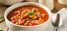 Caponata: Die Fitness-Version des Originals Tomato Gazpacho, Tomato Juice, Low Carb Chili, Protein Muffins, Plum Tomatoes, Chana Masala, Cucumber, Healthy Life, Clean Eating