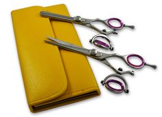 """5.5""""Hairdressing Hair Cutting Scissors Swivel Ring Barber and Thinning Shears #troyscissors"""