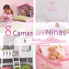 8 Camas Ideales Habitación Infantil Niñas_PintandoUnaMama