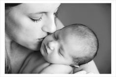 mom & infant photography