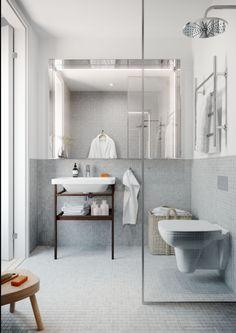 Oscar Properties : Chokladfabriken #oscarproperties bathroom - bathtub - toilet