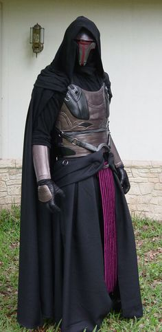 """Darth Revan Costume"" by Robert Rodgers aka MyWickedArmor....great work by local artisan."