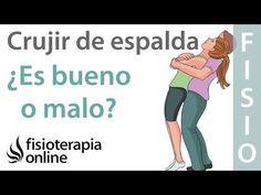 ¿Qué sucede cuando cruje la espalda? ¿Es bueno o es malo? - YouTube