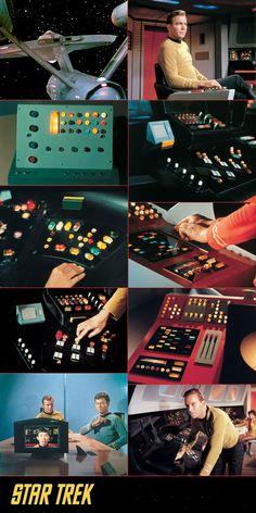 Building your own #Enterprise 1701? #TOS console details...
