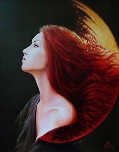 Female perfection in painting by Polish artist Karol Bak