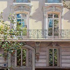 well really it's a balcony...so great