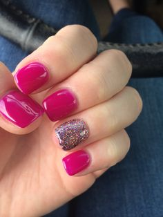 Want some ideas for wedding nail polish designs? This article is a collection of our favorite nail polish designs for your special day. Get Nails, Fancy Nails, Love Nails, Pink Nails, Magenta Nails, Fabulous Nails, Gorgeous Nails, Pretty Nails, Nail Polish Designs