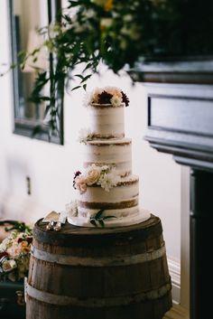 Bespoke The Wedding Event, Irish Pub Wedding, Naked Cake, Wine Barrel