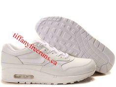 Mens Nike Air Max 1 White White Shoes