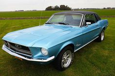 Ford Mustang coupe 289ci V8 1968 – CCC