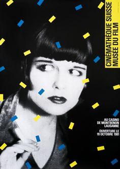 Werner Jeker poster: Cinematheque Suisse - Musee du Film Lausanne